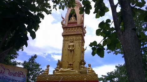 北タイ チェンコンのワット画像