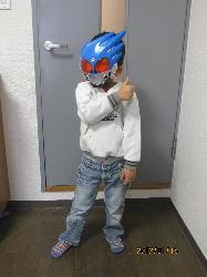 001 仮面ライダー?パーマン?