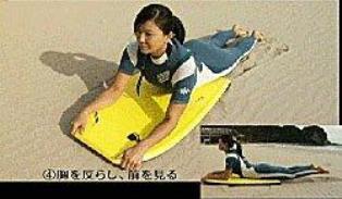 ボディボードの基本姿勢と波の乗り方 [ボディボード] All About