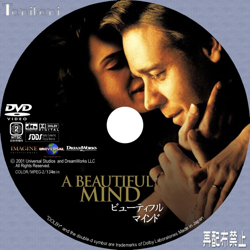A Beautiful Mind CD and DVD Covers  AllCDCovers  Page 1
