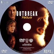 Tanitaniの映画 自作DVDラベル&BDラベル-アウトブレイク