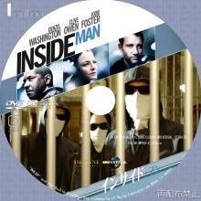 Tanitaniの映画、自作DVDラベル-インサイド・マン