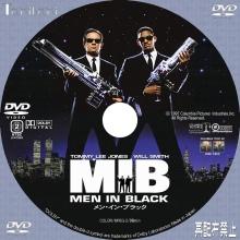 Tanitaniの映画 自作DVDラベル&BDラベル-MIB
