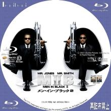 Tanitaniの映画 自作DVDラベル&BDラベル-MIB2_BD