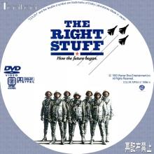 Tanitaniの映画、自作DVDラベル-ライトスタッフ
