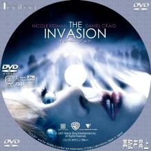 Tanitaniの映画 自作DVDラベル&BDラベル-インベージョン