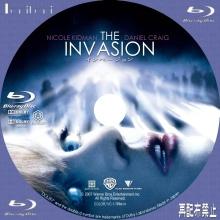 Tanitaniの映画 自作DVDラベル&BDラベル-インベージョンBD