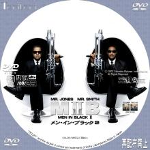 Tanitaniの映画 自作DVDラベル&BDラベル-MIB2