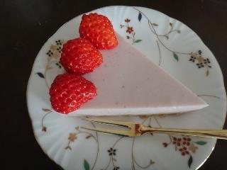 苺のチーズケーキ0429