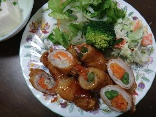 野菜の肉巻き0512