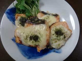 鮭のチーズ焼き0524