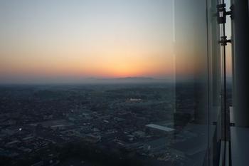 県庁の展望台から。
