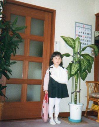 横浜から越してきて5日目に、椅子から落ちて骨折した不運なゆりたん(4歳)