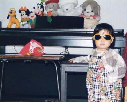 マユチャン(2歳) お気に入りのサングラス