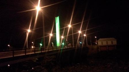 夜のお散歩コース