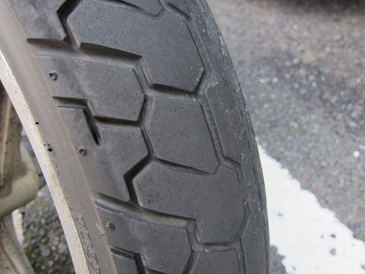 タイヤ交換 2