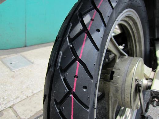 タイヤ交換 6