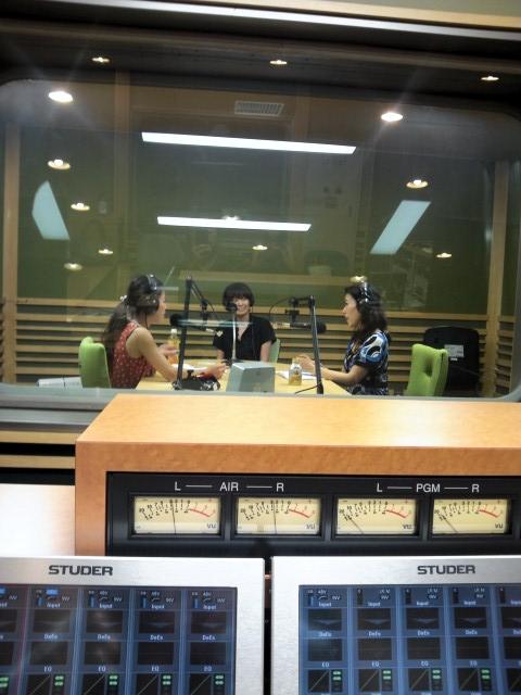 20120823FMあいち収録現場