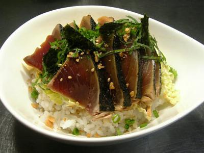 カツオのヅケ丼