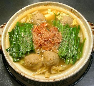 ニラキムチ鍋