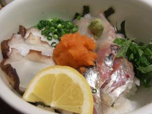 海鮮丼 日の出2