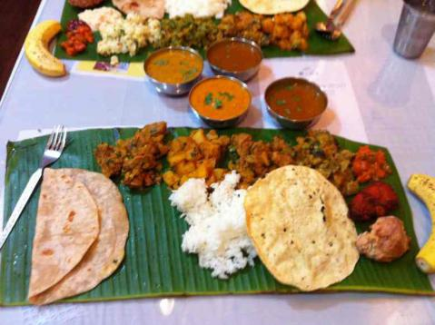 south india dinning