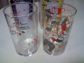 一番くじ本屋玉手箱I賞グラス2