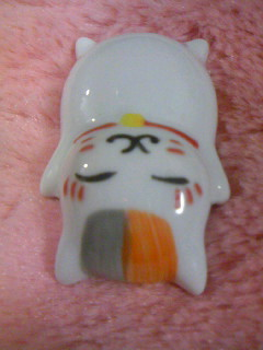 ニャンコ先生陶器フィギュア(2012.9月号付録)3