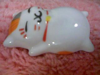 ニャンコ先生陶器フィギュア(2012.9月号付録)4