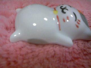 ニャンコ先生陶器フィギュア(2012.9月号付録)5