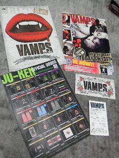 VAMPS LIVE2012ツアーフレイヤー