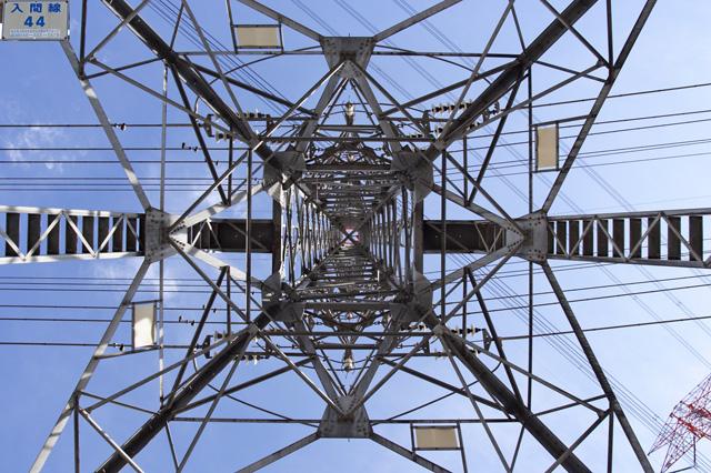 東京電力入間線44号鉄塔