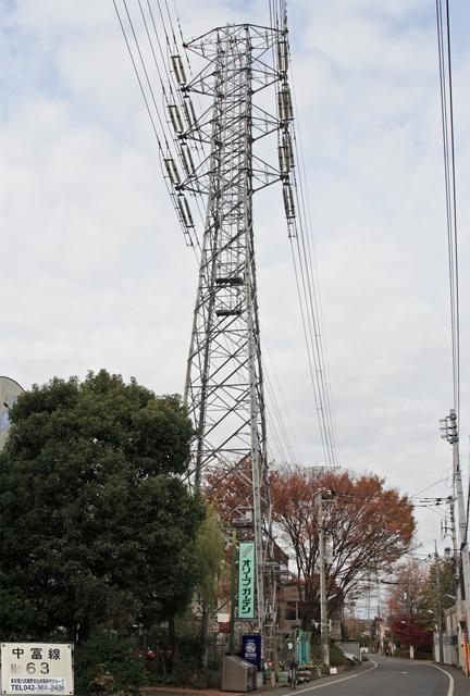 中富線63号鉄塔