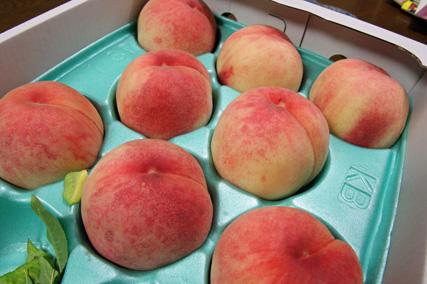 大きな桃13個!