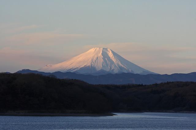 2013年元旦の富士山