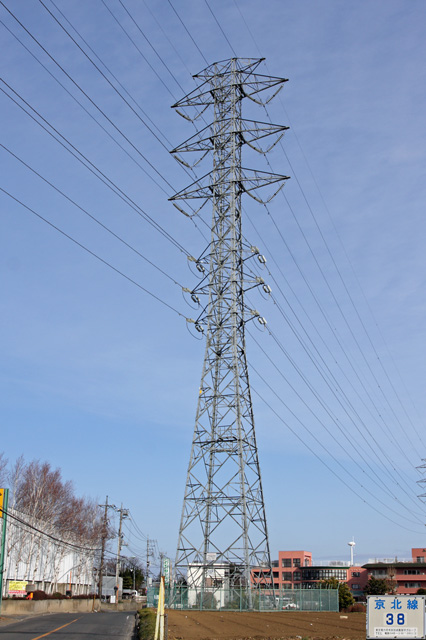 京北線38号鉄塔