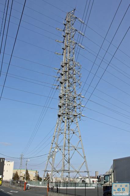 京北線65号鉄塔
