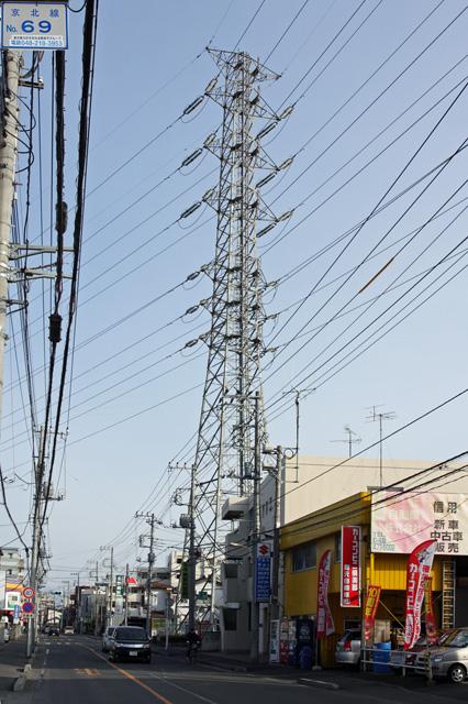 京北線69号鉄塔