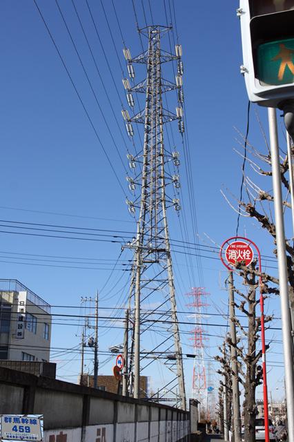群馬幹線459号鉄塔