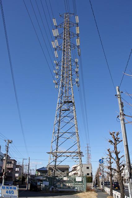 群馬幹線460号鉄塔