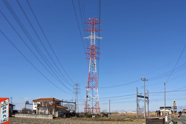群馬幹線449号鉄塔