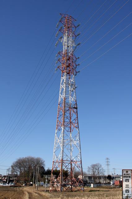 群馬幹線434号鉄塔