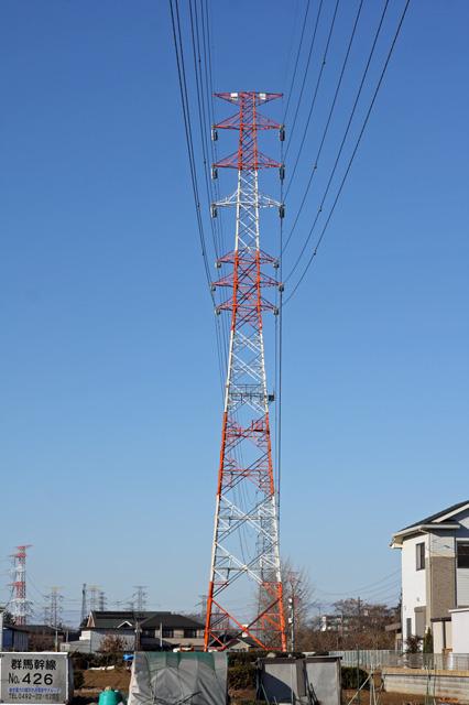 群馬幹線426号鉄塔