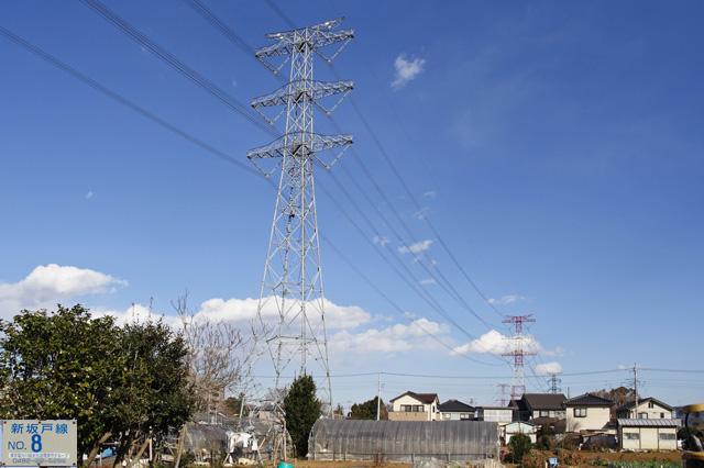 新坂戸線8号鉄塔