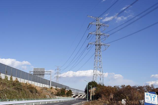 新坂戸線17号鉄塔