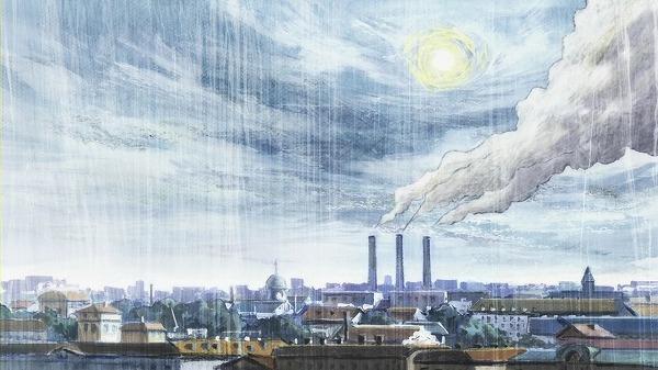 フィンランドの工場