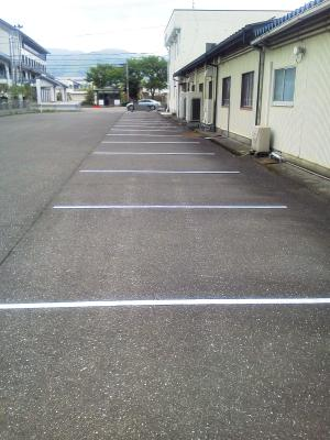 従業員用駐車スペース