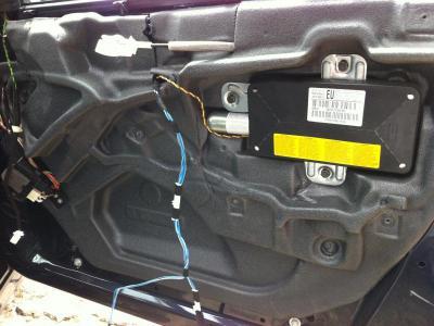 BMW E46 パワーウィンドレギュレター交換 325 320 318 ツーリング Mスポーツ
