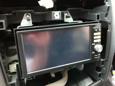 26セレナ TVキット取付 データシステム 日産純正オプションHDDナビ