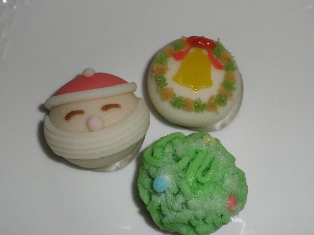 和菓子のクリスマス